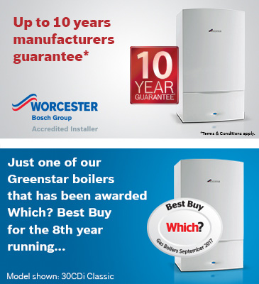 worcester boiler installation Gloucestershire